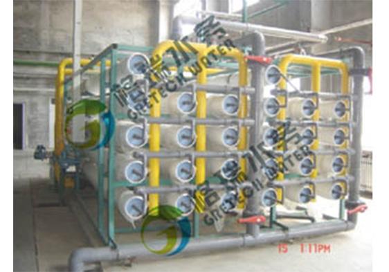该装置有利于促进水资源的合理回收