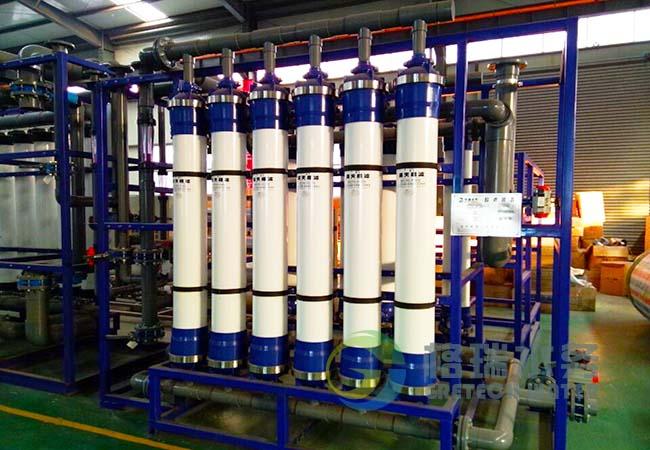 超滤膜元件采用世界膜公司产品,确保了客户得到目良好的有机膜元件,从而确保截留性能和膜通量