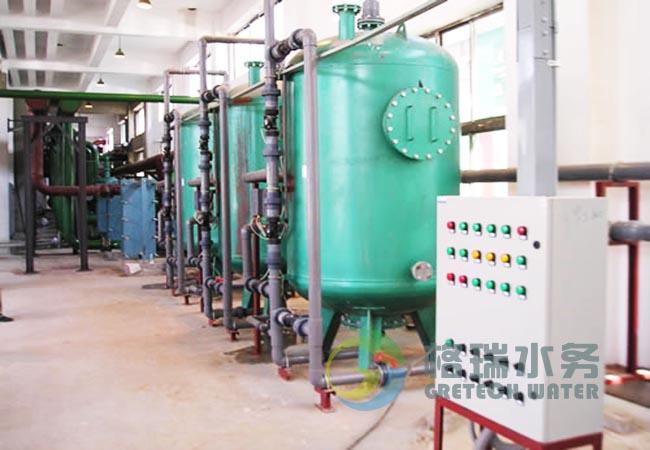 Gretech系列多阀系列软水器由信号分配器和程序控制器构成,固定于防、水控制器外壳内