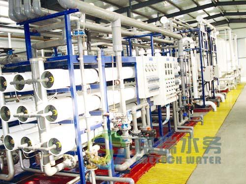 该工艺与传统工艺相比具有运行成本低的优点(离子交换器的再造周期大大延长),运行可靠